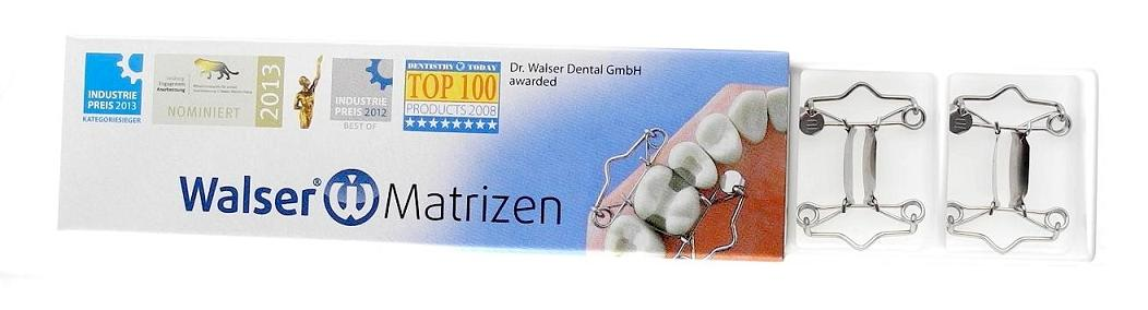 Refill pack of 5 Walser Dental Matrices can be ordered from #1-22 and 25