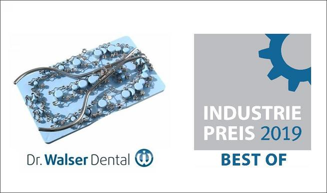 "The tooth matrices of Dr. Walser Dental were awarded ""Best of 2019"" at the industry award"