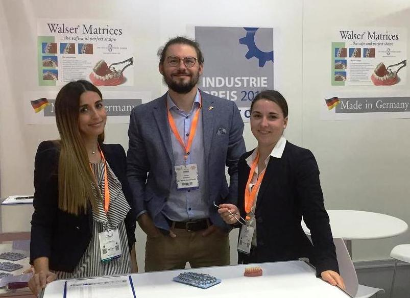 The Dr. Walser Dental was again with its team at the AEEDC in Dubai in 2018 as an exhibitor