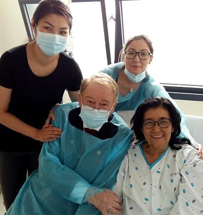 Dr. Walser Dental spendet fuer Finanzierung Lebertransplantation