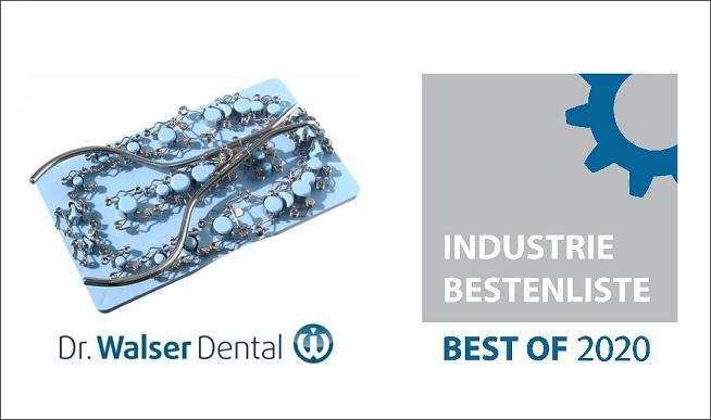 Die Zahn-Matrizen von Dr. Walser Dental wurden mit Best of 2020 ausgezeichnet
